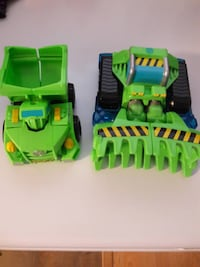 Transformer Rescue Bots Vehicles - dump truck / tractor