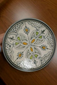 Handmade Moroccan plate Washington, 20431