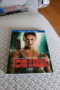 Tomb Raider in Blu-ray and DVD