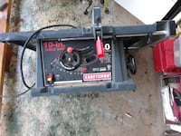 Craftsman table saw  Lenoir City, 37771