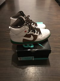 California SB Dunk Hi Sz 11.5 41 km