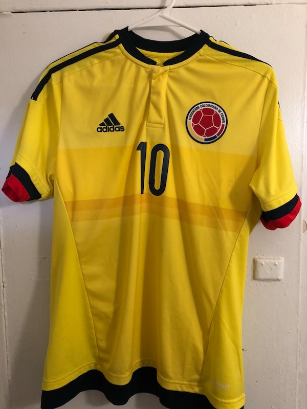 detailed look 68376 705ec Colombia Soccer Jersey James Rodriguez Size M