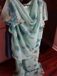 white and blue floral dress Rocky Mount, 27803