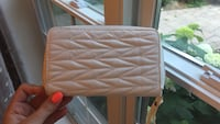 White quilted wallet Blainville, J7C 4X9
