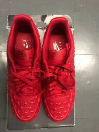 NIKE AIR FORCE ONES - LAVA EDITION - MENS SIZE 12 New York, 10044