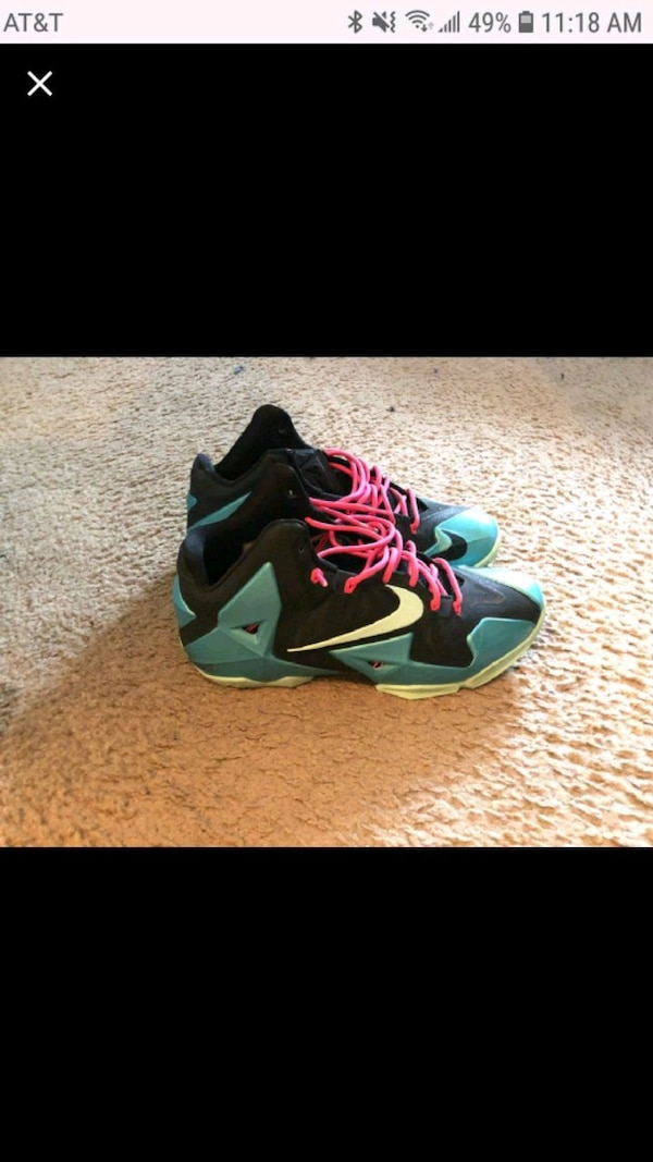 Air Jordan Lebrons. South Beach limited edition.