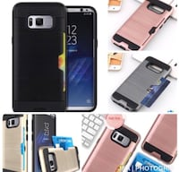 Luxurious S8/ S8 PLUS phone case with card slot West Covina, 91792