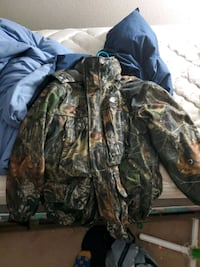 Mossy oak hunting jacket 2 layer NEED GONE Anchorage, 99516