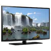 Samsung J [TL_HIDDEN] p LED Smart TV - Black Laurel, 20708