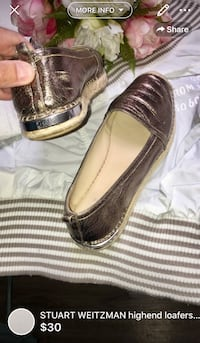 STUART WEITZMAN highend loafers size 6.5 retailed close to 150$ London, N5W 1E8