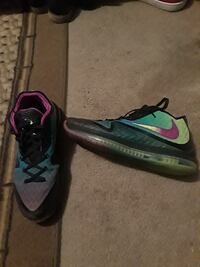 pair of gray-and-pink Nike cleats Newport News, 23605