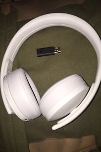 Ps4 gold wireless headset with Bluetooth usb. Color-white New York, 11213