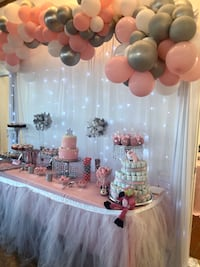 Cakes,Candy Apples, Candy Tables and Balloon Garlands Castro Valley