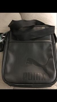 black leather Puma sling bag North Las Vegas, 89031