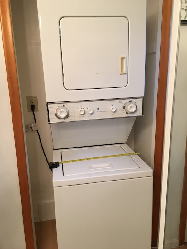 GE spacemaker apartment size washer dryer