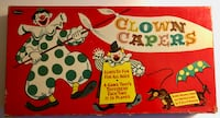 Vintage 1957 Clown Capers Board Game by Whitman Complete Barnesville