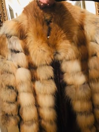 Real Fox Fur price negotiable.