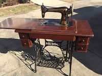 Antique Pedal Singer Sewing Machine Mount Airy, 27030