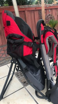 Hiking carrier for babies, toddlers. With canaopy. San Mateo, 94401