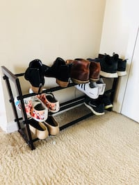 Adjustable shoe rack Alexandria, 22314