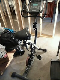 Power Spin Stationary Exercise Bike Gold's Gym Vinco