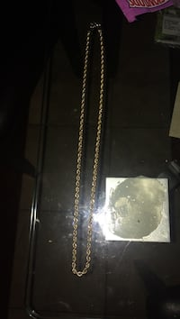 10k gold plated rope chain Vaughan, L4J 6G4