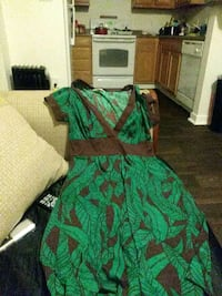 green and brown floral textile Arvada, 80003