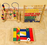 Sturdy Wooden Educational Toys for Toddlers Reston, 20194