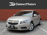 2013 Chevrolet Cruze LT Turbo, Only 47K, Accident free Vaughan