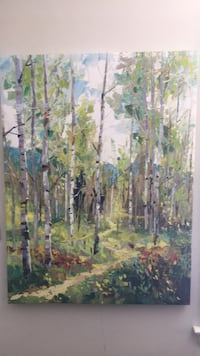 World Market - aspen tree painting Silver Spring, 20901