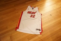 Vintage NBA Miami Heat Shaquille O'Neal Jersey 3XL Washington, 20016