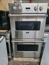 Viking commercial stacked oven 1 year old Chicago