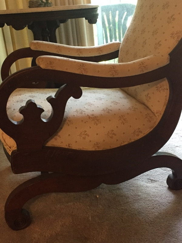 Rocking chair and loveseat e8b538a9-1ede-4649-b524-dc7f5ee4354f