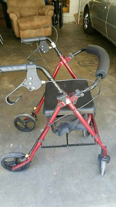 Bariatric Rollator Walker