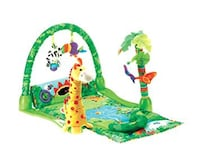 Fisher price rain forest baby gym as new  Mississauga, L5L