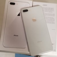 New Apple iPhone 8 plus  256GB SILVER  o Durrës