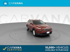 2016 Jeep Cherokee suv Latitude Sport Utility 4D Red