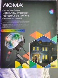 Noma light show projector