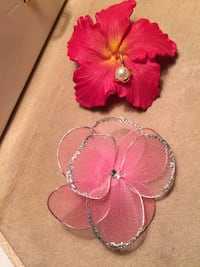 Flower Pins ($6 For Both)