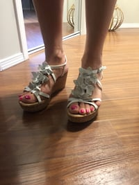 White sandals for sale