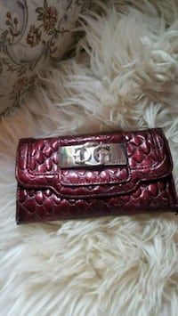 Faux-crocodile Guess wallet