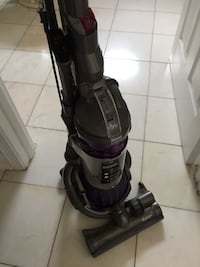 black and purple upright vacuum cleaner Carol Stream, 60188