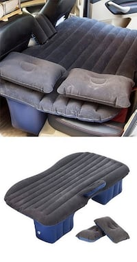 "New $25 Inflatable Mattress Car Air Bed Backseat Cushion w/ Pillow Pump 54x33"" South El Monte"