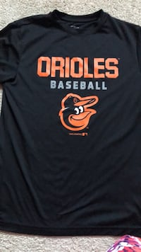 Youth boys Baltimore Orioles dry fit tee large size 10-12