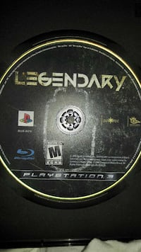 LEGENDARY PS3 DISC ONLY