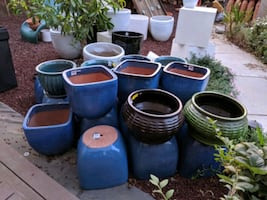 9/28 - My Yard Is Overwhelmed with Pots - Pottery Sale