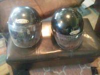 two black and gray full-face helmets Nampa, 83651