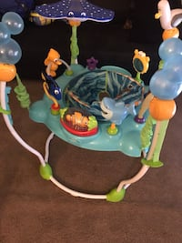 baby's white and green jumperoo Pikesville