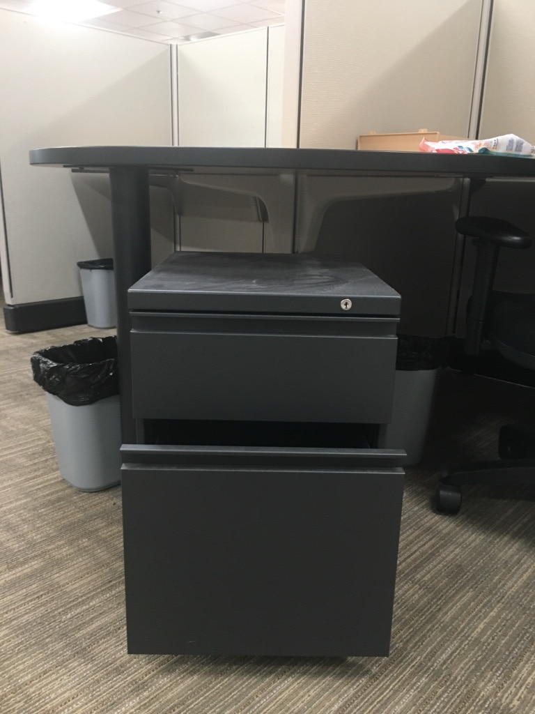 Rolling Office Filing Cabinet