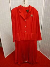 red button-up long sleeve dress Springfield, 22150